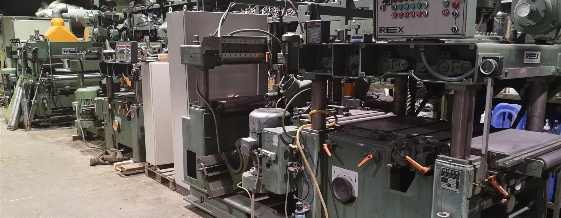 REX Hobelmaschinen